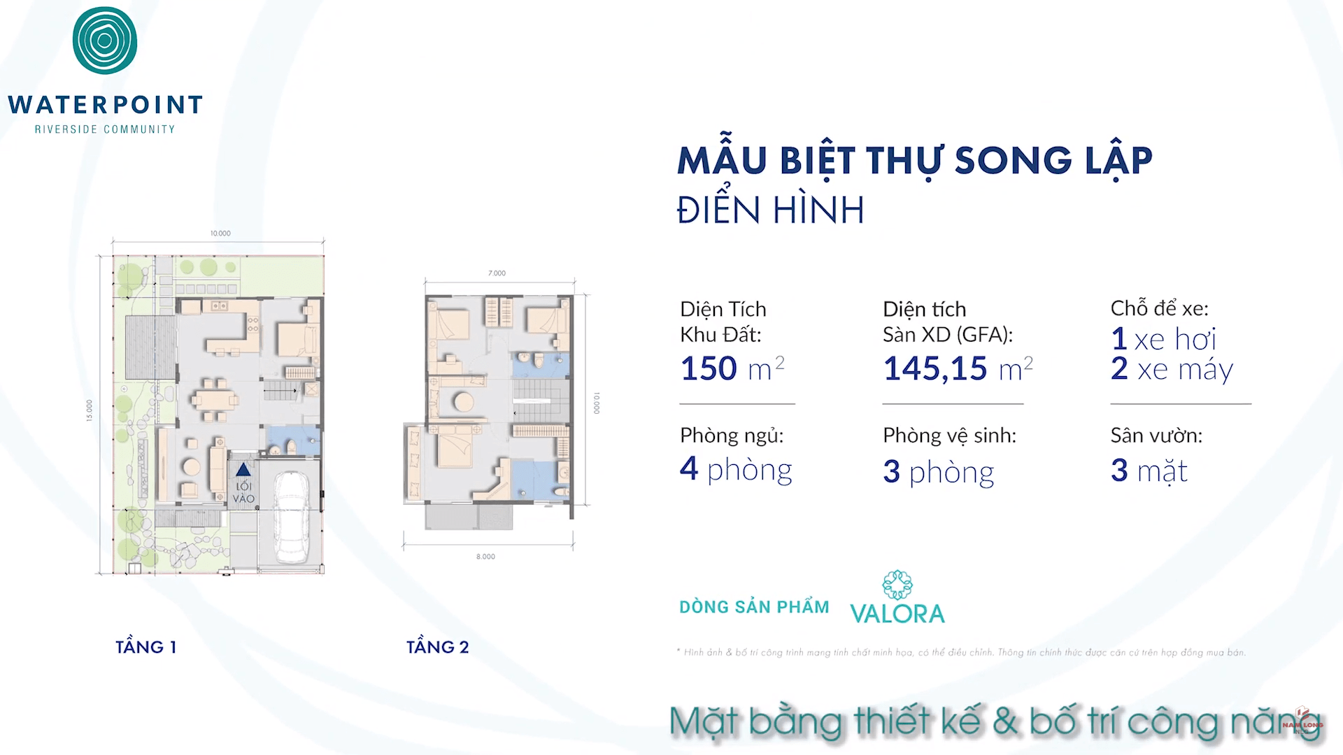 Thiết kế Biệt thự Waterpoint